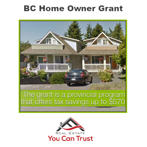 BC Home Owner Grant